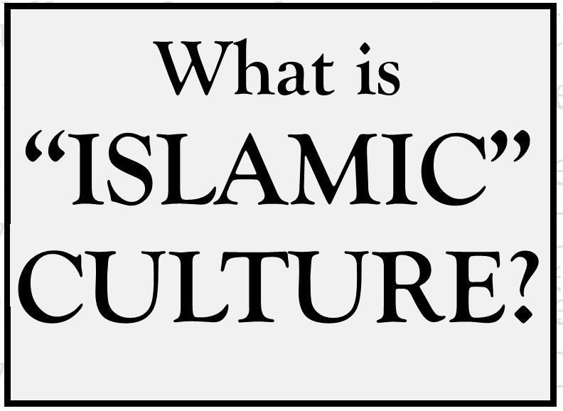 Muslim culture is simple and easy to follow