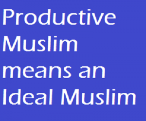 how to be a productive Muslim