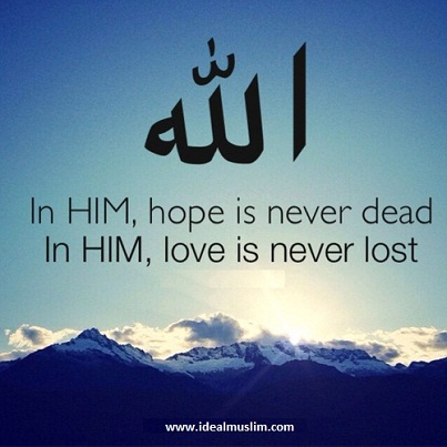 hope is never dead
